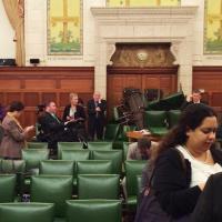 Canada sotto attacco, barricati in Parlamento: le foto da Twitter