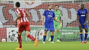 Per la Juve si mette male sconfitta 1-0 ad Atene   ft