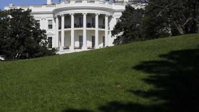 Salta i cancelli della Casa Bianca,  Fermato vicino ad uno degli ingressi