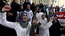 """""""Noi donne  curde irachene  pronte a combattere contro il Califfato"""""""