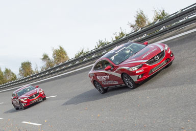 Record di velocità per Mazda6