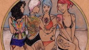 Tutto il coraggio delle donne nei disegni anti pregiudizi