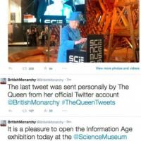 "Il primo tweet ""reale"": Elisabetta saluta in 140 caratteri"