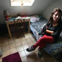 "La paladina degli studenti-sardine: ""Così vivo in 7 metri quadri"