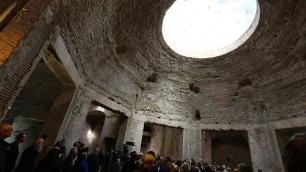 Riapre la Domus Aurea    video    visite guidate tra lavori in corso
