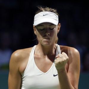 Tennis, Wta Finals: vittorie amare per Sharapova e Ivanovic, Radwanska e Halep in semifinale