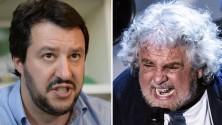 Salvini comunista e Grillo leghista. Il peggio della settimana