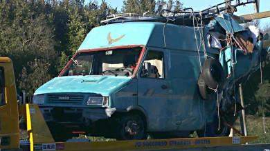 Incidente sulla A1 vicino a Roma:  almeno sei morti e quattro feriti   foto