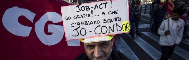 Cgil in piazza a Roma   foto   /   Diretta tv      Racconto per immagini e tweet dai cortei