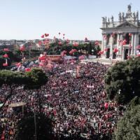 """La Cgil, un milione in piazza contro il Jobs Act. Camusso: """"Avanti con la protesta, anche..."""