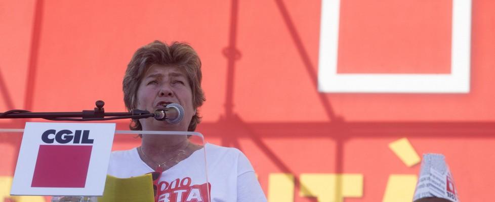 """La Cgil, un milione in piazza contro il Jobs Act. Camusso: """"Avanti anche con sciopero generale"""""""