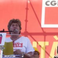 """La Cgil, un milione in piazza contro il Jobs Act. Camusso: """"Avanti anche con sciopero..."""