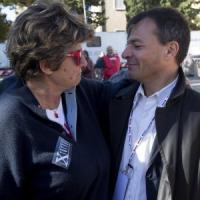 """Tentazioni di scissione e appelli a Renzi: il Pd in piazza con la Cgil chiede """"più sinistra"""""""