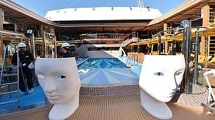 """""""Diadema"""", la regina del mare Costa svela 300 metri extra lusso    video  - La nuova ammiraglia"""