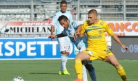 Frosinone ko con l'Entella Un quartetto al comando