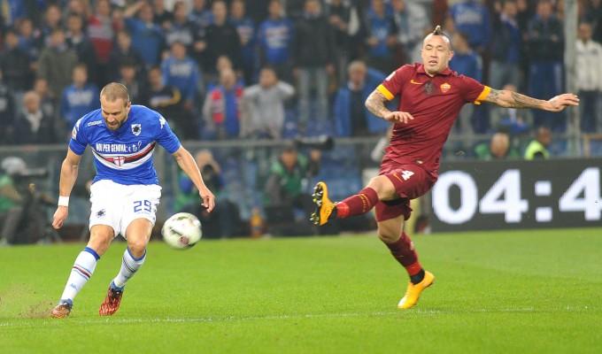 Sampdoria-Roma  0-0 : la partita in diretta    foto