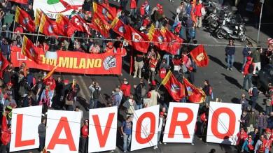 """Cgil: un milione a Roma   foto   /   Tweet   Camusso: """"Sciopero generale""""   video"""