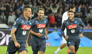 Napoli, gol e sorrisi per gli azzurri. Hamsik: ''Ci voleva proprio''
