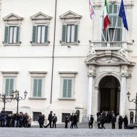 Processo Stato-mafia, l'arrivo della Corte d'assise al Quirinale