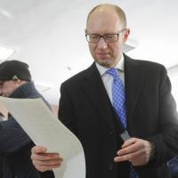 Ucraina, in corso lo spoglio delle legislative: avanti il partito del premier Jatsenjuk