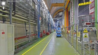 Dove si studia la materia: con Street View, dentro i laboratori dell'INFN