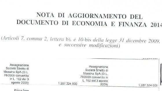 """Ponte di Messina, scontro Sel-Ministero: """"Rifinanziato"""". """"Lettura errata"""""""