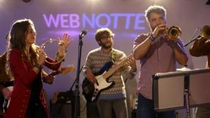 """Webnotte, la musica è social    backstage     Argento: """"Io e i Pink Floyd""""    fotoracconto     Il timelapse  della puntata in due minuti"""