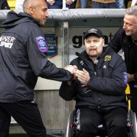 L'addio a Ingesson: le ultime partite dirette in sedie a rotelle