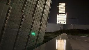 L'architetto Isozaki accende il grattacielo più alto d'Italia