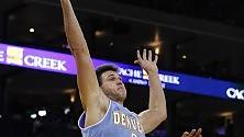 Gallinari torna dopo  un anno e mezzo con sette punti, Denver vince