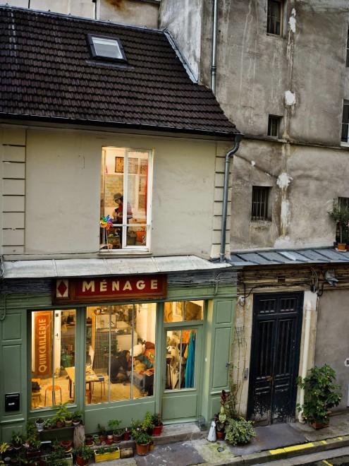 Ritratti rubati dalle finestre: Parigi secondo Gail Halbert Halaban