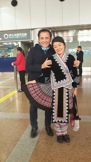 Roby Facchinetti torna dalla Cina con una Laurea honoris causa