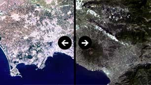 Come cambia Napoli (1985-2014)   Cemento, siccità ed erosione