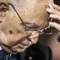 """Napolitano, fiducioso: """"Supereremo gli ostacoli alle riforme"""""""