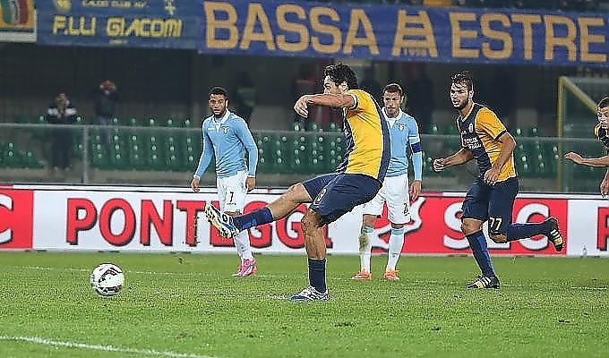 Ultime Notizie: Verona-Lazio 1-1: Toni risponde a Lulic, biancocelesti al terzo posto