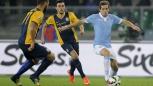Pari a Verona, la Lazio è terza. A Lulic risponde Toni   foto