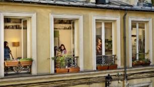 Ritratti rubati dalle finestre