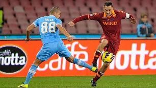 """Napoli-Roma, tensione Garcia: ''Che sia festa''   Totti: """"Abbraccio le famiglie colpite da lutto"""""""