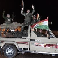 Siria, peshmerga curdi entrano a Kobane