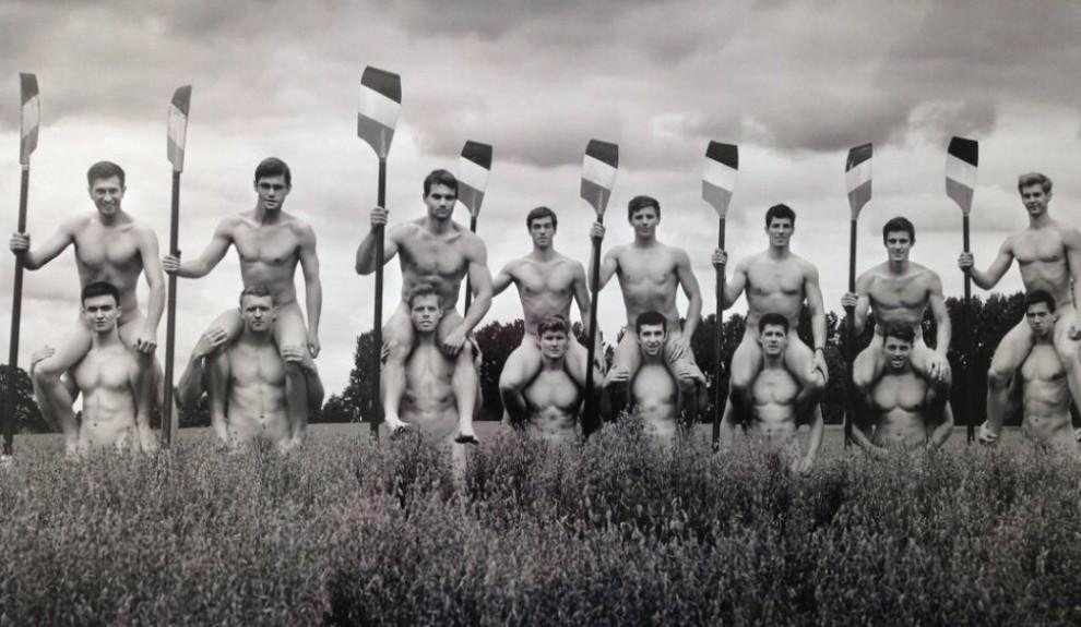Nudi contro l'omofobia: il calendario dei canottieri inglesi