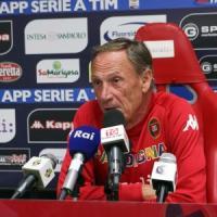 Cagliari, Zeman chiede continuità: ''Contro la Lazio mentalità propositiva''