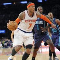 Basket Nba: Anthony nel club dei 20.000, i Knicks superano Charlotte