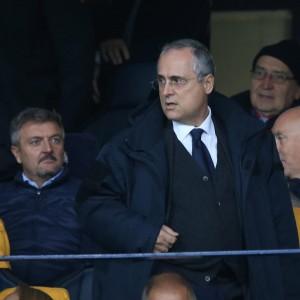 """Lazio, Lotito: """"Voglio liberare i calciatori dai procuratori"""""""