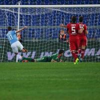 Lazio-Cagliari 4-2, spettacolo all'Olimpico e biancocelesti terzi