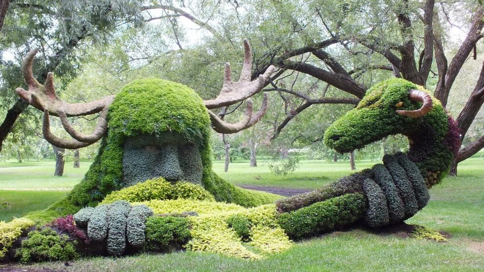 Quando la natura incontra l'arte: le statue verdi di Montreal