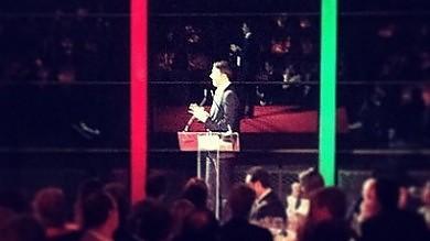 Pd, in ottocento alla cena di finanziamento con Renzi