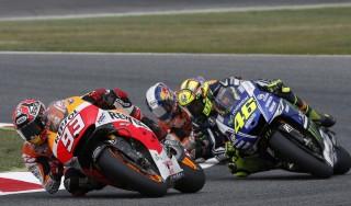 MotoGp, Valencia: Marquez non fa sconti, Lorenzo davanti a Rossi