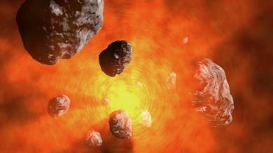 """Il """"kit della vita"""" in provetta con l'aiuto di Sole e meteoriti"""