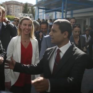 """Visita della Mogherini a Gaza: """"Serve uno stato palestinese indipendente"""""""