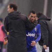 """E' la Juventus di Allegri, Conte dimenticato. Tevez: """"La Nazionale è un premio"""""""